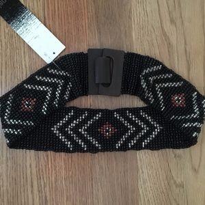 NWT Kensie Beaded Belt - S
